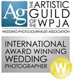 The Artistic Guild of the WPJA International Award Winning Wedding Photographer